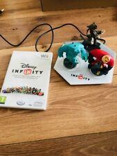 Jeu Disney Infinity pour Nintendo Wii & WiiU + Portail Plateforme + 3 Figurines