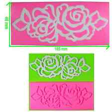 Filligree Double Rose Lace Embossing Mat / Mould by Fairie Blessings