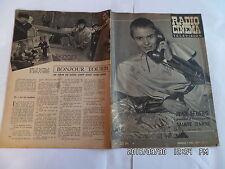 RADIO CINEMA TELEVISION N°377 7/4/1957 JEAN SEBERG JEANNE D'ARC R.LAMOUREUX  G86