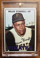 1967 TOPPS #140 WILLIE STARGELL PITTSBURGH PIRATES BASEBALL CARD EX/MT HOF