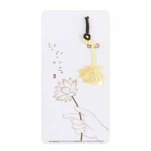 Stationery Exquisite Lanyard Creative Gold-plated Hollow Metal Bookmark Metal