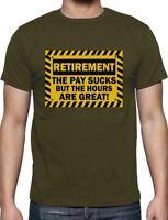 Funny Retirement Gift Idea - Retired T-Shirt Novelty Present