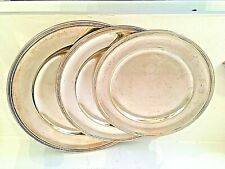 Lotto di 3 piatti d'argento 800 - Lot of 3 silver plates 800