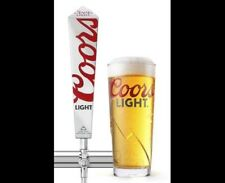 24  NEW 2018 COORS LIGHT 20oz PINT GLASSES NUCLEATED & TEMPERED Free Shipping UK