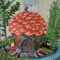 Fiddlehead Fairy Garden Miniature PINE CONE COTTAGE - NIB