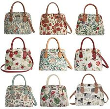 d4fce2595c Signare Tapestry Style Convertible Top Handle Handbag Floral Animal Patterns