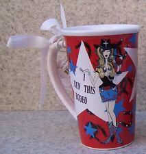 Jumbo Coffee Mug I Run this Rodeo NEW 22 ounce cup with gift box