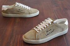 SAINT LAURENT Court Classic Embroidered Low Top Sneaker (Mens 41EU/8US) NEW!!