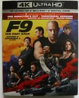 F9 The Fast Saga (4K UHD + Blu-ray + Digital + Slipcover, Brand New & Sealed)