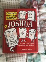 JOSHUA'S Card Game