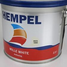 ABVERKAUF: 2,5 l Hempel Antifouling Mille White 10000 weiß