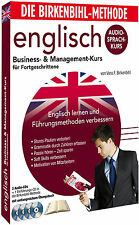 Birkenbihl English Business&Management Audio-Sprachkurs 4 CD,s+Booklett !