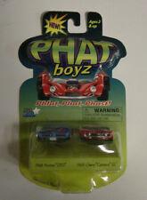 Phat Boyz 1968 Pontiac GTO 1969 Chevy Camaro SS Diecast Car New Vtg #5 82040 NIB