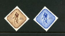 Colombia 1957  #C297-8  cycling bicycle tour  2v.   MNH   H495
