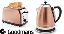 Goodmans Diamond Stile di rame bollitore 1.7L e set di 2 fette