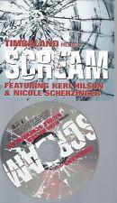 PROMO CD--TIMBALAND --SCREAM --1TR