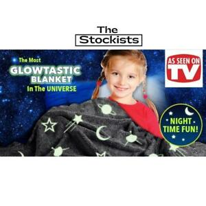 Magic Glow In The Dark Blanket-As Seen On Tv