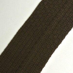 Solid Brown BATOINELLI Skinny Slim Cotton Trunk Tie