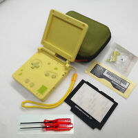For GameBoy Advance GBA SP Replacement Full Housing Hard Shell Case Cover Yellow