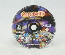 Ogre Battle Limited Edition PS1 Disc Only Untested AS IS
