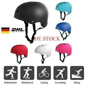 Kinder Skaterhelm Erwachsenen ProtektorenHelm Sport Schutzausrüstung Helm S M L