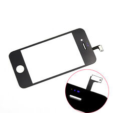 For iPhone 4 4S CDMA Black Front Glass Touch Screen Digitizer Replacement TG23