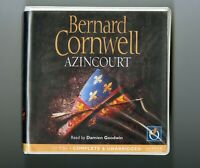 Azincourt: by Bernard Cornwell - Unabridged Audiobook - 11CDs