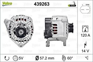 AUDI A8 4E A4 8Ec B7 8E2 B6 8D2 B5 SKODA VW Alternator VALEO 1.6-3.0L 1994-2008