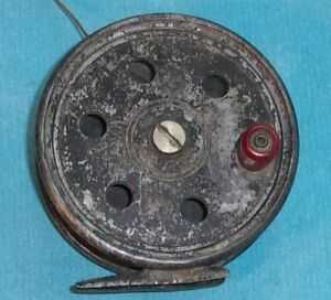 Antique Vintage Wanita FLY REEL told it was made by MEISSELBACH