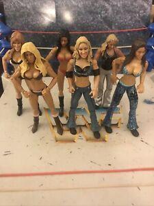 WWE Jakks Divas Lot Lillian Garcia Jillian Hall Melina