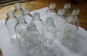 10 Laborglasflaschen 1000ml (4x Schott Duran, 6x Simax)