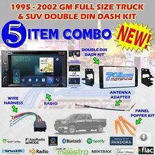 1995-2002 GM FULL SIZE TRUCK & SUV DOUBLE DIN CAR STEREO INSTALLATION DASH KIT E