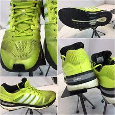 Adidas Supernova Boost Shoes Sz 12 Men Yellow Running Shoes EUC YGI D9S-111