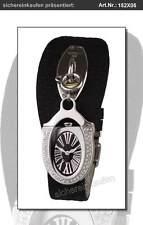 Cerruti Damenuhr ICONE Uhr & Band schwarz + Bettel-Armband-Kette 152X05 Strass