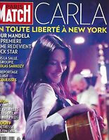 Paris Match Magazine Carla Bruni Nicolas Sarkozy Jean Seberg Bernie Madoff 2009