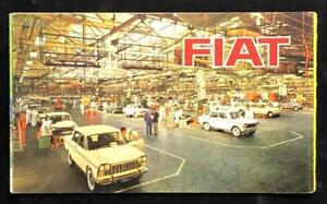 FIAT 500 STATION WAGON 600D CONVERTIBLE 1100D 1300 1500 MOTOR CAR SALES BROCHURE