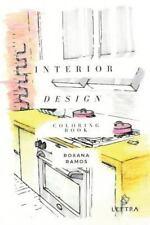 Interior Design Coloring Book by Roxana Ramos (2016, Paperback)