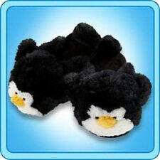 MY PILLOW PETS PERKY PENGUIN size SMALL SLIPPERS TOY PLUSH  BRAND NEW CUDDLE!!