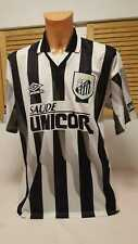 Santos FC Trikot 1998/99 Home Jersey Shirt Camiseta Camisola Unicor Umbro XL #10