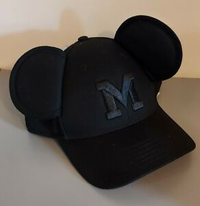 NEW ADULT DISNEY STORE MICKEY MOUSE BLACK EARS EMBROIDERED M CAP HAT BNWT