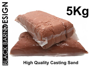 5.0kg Petrobond Oil Bonded Metal Casting Sand for Gold Silver Delft Style Clay