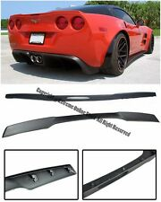 For 05-13 Corvette C6 ZR1 Style ABS Plastic Matte Black Rear Trunk Lip Spoiler