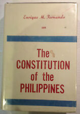 Constitution of the Philippines by Fernando, Enrique M.