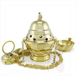 2960 Handmade Censer out of Brass church incense burner distiller кадильница NEW