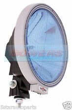 "SIM 3228 12V/24V 9"" INCH ROUND BLUE LENS NARROW PENCIL BEAM SPOTLIGHT SPOTLAMP"