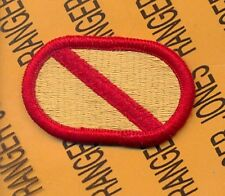 US Army 600th Quartermaster Co Airborne Rigger para oval patch Type 2 m/e