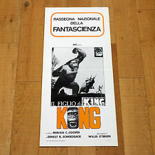 IL FIGLIO DI KING KONG locandina poster Robert Armstrong Son of Kong Ape AC1
