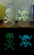 Skull & Crossbones Glow in the Dark Sticker