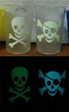 Skull & Crossbones Glow in The Dark Sticker
