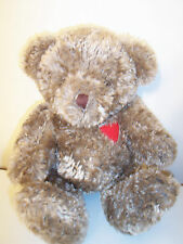 Snuggle Up Bear House of Lloyd Big Red Heart Really Soft